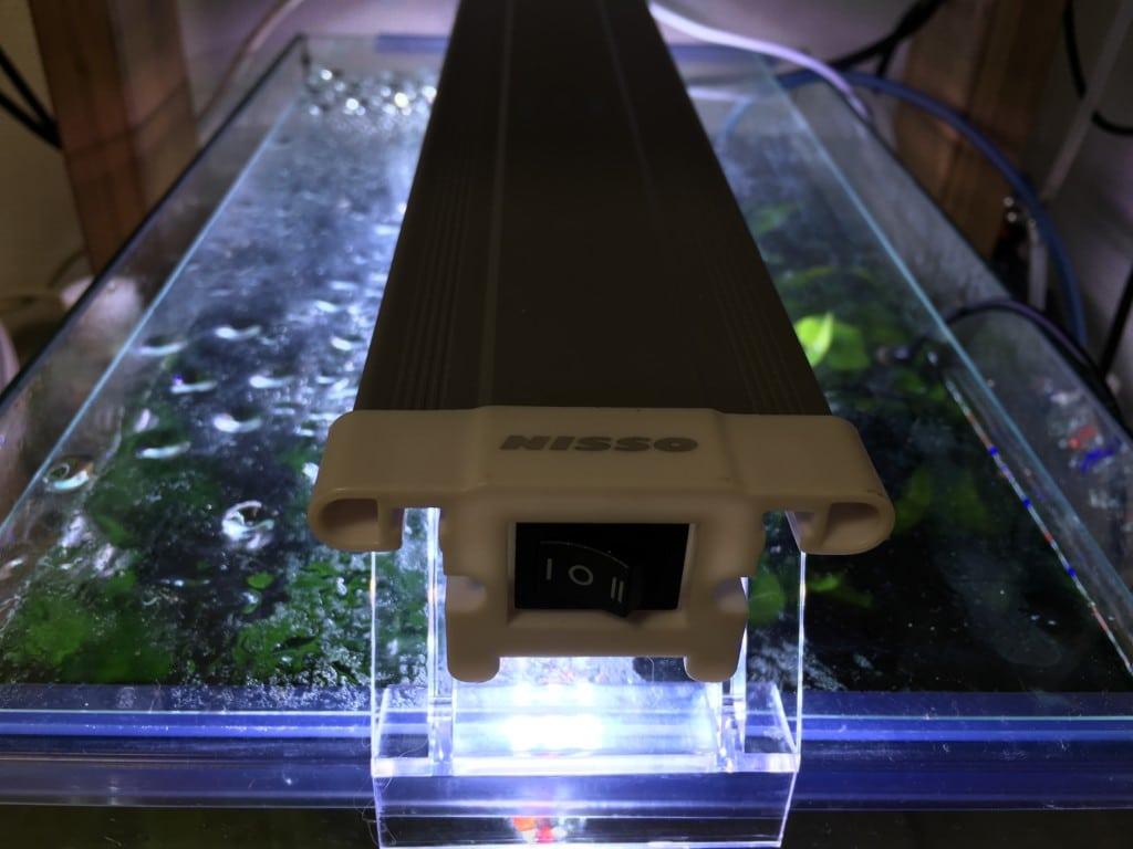 【商品レビュ|ライト】NISSO(ニッソー) PGスーパークリアー|水槽設置