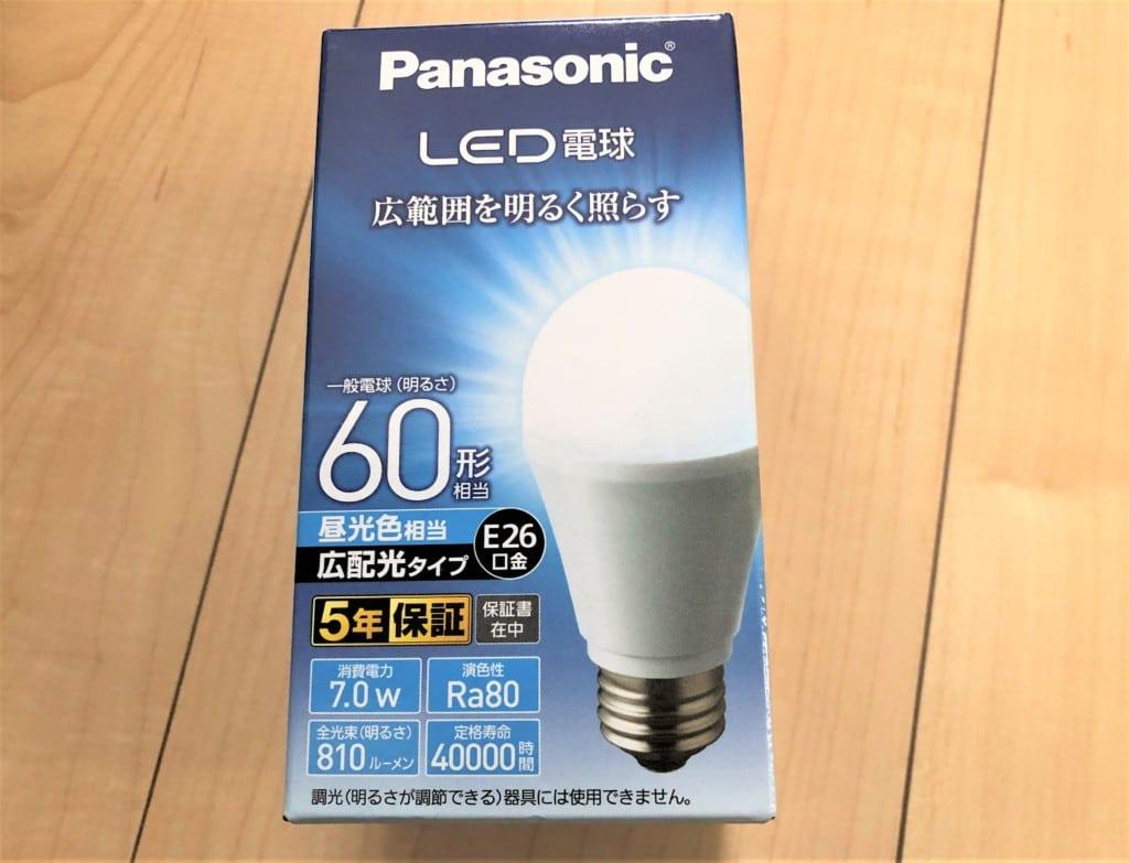 パナソニック LED電球